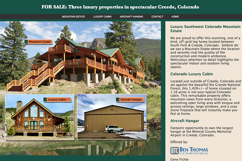 Creede Luxury Properties